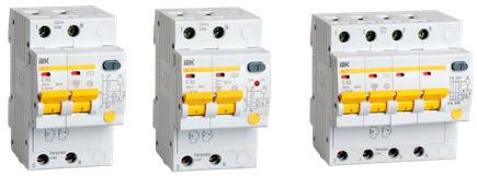 Автоматы дифференциальные АД12, АД12М, АД14