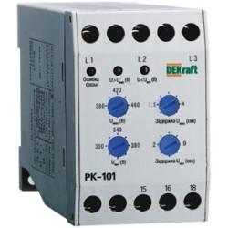 Реле контроля фаз серии РК-101 01