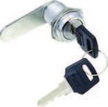Замки с металлическим ключом