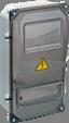 Пластиковые корпуса для установки счетчика ЩУРн-П IP55