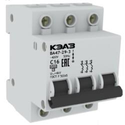 ВА47-29 Модульные автоматические выключатели на токи до 63А