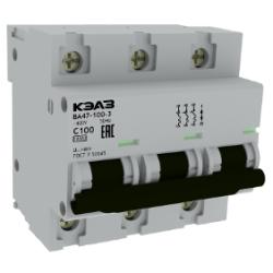 ВА47-100 Модульные автоматические выключатели на токи до 100А