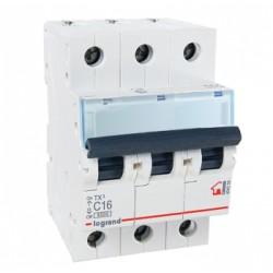 Автоматические выключатели TX³ 6000 – 10 кА с термомагнитным расцепителем на токи от 6 до 63 А