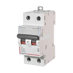 Автоматические выключатели DX³ – 25 кА с термомагнитным расцепителем на токи от 2 до 125 А