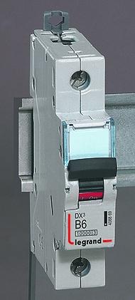 Автоматические выключатели DX³ 10000 – 16 кА с термомагнитным расцепителем на токи от 0,5 до 125 А
