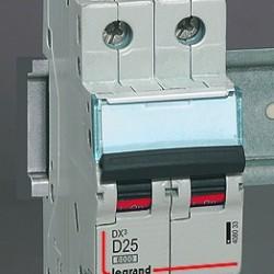 Автоматические выключатели DX³-E 6000 – 6 кА с термомагнитным расцепителем на токи от 1 до 63 А