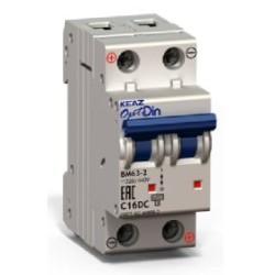 OptiDin BM63 DC Модульные автоматические выключатели на постоянный ток до 50А