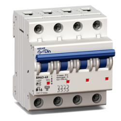 OptiDin BM63 РЕГ Модульные автоматические выключатели на переменный ток до 63А
