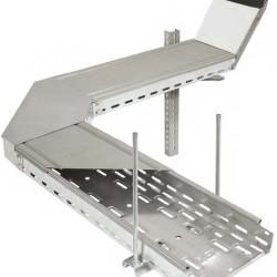 Системы подвесов для металлических лотков