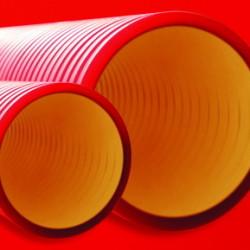 Двустенные жесткие электротехнические трубы