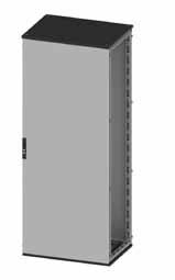 Сборные шкафы CQE, со сплошной дверью и задней панелью