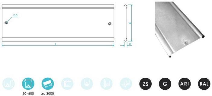 Крышки для перфорированного и неперфорированного лотка с винтовым соединением CLIVE