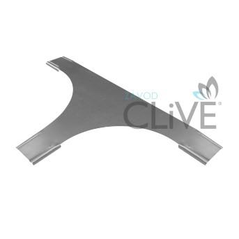 Крышки угла Т-образного для лестничного лотка CLIVE